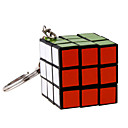 IQ Cube Magic Cube Three-layer With Keychain Smooth Speed Cube Magic Cube puzzle Black Plastic