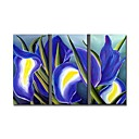 Handmade Floral Painting Stretched Ready To Hang(0695 -FA-AB-D-005)