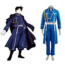 FullMetal Alchemist Roy Mustang Military Cosplay Costume