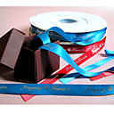 Personalized 5/8-Inch Double Faced Satin Ribbon (2 rolls)