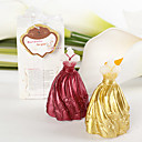 Wedding Dress Candle Favor