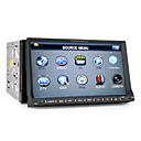Reproductor DVD Para Coche con Pantalla TFT de 7 Pulgadas con Bluetooth, RDS, DVB-T, GPS, Entrada iPod