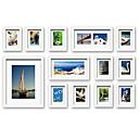 eigentijdse galerie wit collage muur fotolijstjes, set van 13