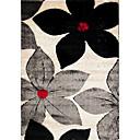 lana de pelo insertado alfombras con motivos florales 3 '* 5'