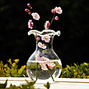 Table Centerpieces Old Style Clear Glass Vase Centerpiece  Table Deocrations