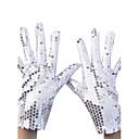 Handschuh Handgelenk-Länge Fingerspitzen Nylon Party / Abendhandschuhe