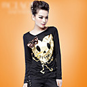 Skull Gold Long Sleeve T-shirt