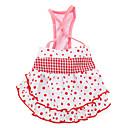 hofteholder stil kjole til hunde (xs-xxl, pink)