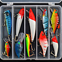 Hard Bait / Lure kits / Fishing Lures Crank / Hard Bait / Spoons / Lure Packs / Minnow / Pencil / Vibration/VIB 10 pcs g Ounce mm / 4