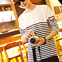 Cotton Men's Stripes Long Sleeve T-shirt