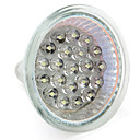 GU10 / GU5.3(MR16) 1W 21 Dip LED 65 LM Warm White / Natural White MR16 LED Spotlight DC 12 / AC 12 V