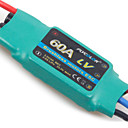 Flycolor 6S 60A ESC for Airplane with Brushless Motor (Random Colors)