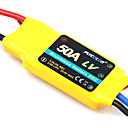 Flycolor 6S 50A ESC for Airplane with Brushless Motor (Random Colors)