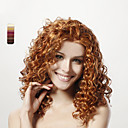 Capless Long Top Grade Quality Synthetic Curly Hair Wig 15 Colors To Choose