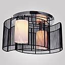 sl® tavan lambası modern tasarım yatak odası, 2 ışık siyah