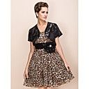 Luxurious Short Sleeve Sequined Wedding Wrap / Special Occasion Evening Jacket Bolero Shrug