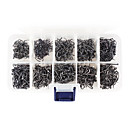 High-Carbon Steel Cutting Blade Maruseigo Hooks Set (1000Pcs 10 Sizes 6#-15#)