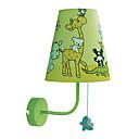 40W Applique murale contemporaine Tissu enfants avec 1 Lumière Modèle animal