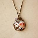 Women's Flower Fashion Vintage Necklace(Pendant:2.5*2.5CM,Length:60CM)
