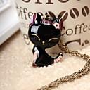 Frauen schöne Katze Halskette