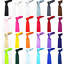 Men's Casual Solid Color Narrow Necktie