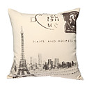 imprimir retro paris fronha decorativo