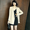 ALAN Business Solid Color Deep V Blazer (More Colors)