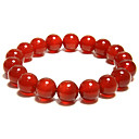 Women's Natural Red Agate Bracelet(Diameter:10MM)