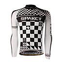 spakct% 100 polyester uzun kollu nefes / çabuk kuruyan erkekler bisiklet forması s13c11
