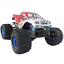 3CH 1:8 RC Truck Land Overlord RTR Nitro Powered 4WD Monster Truck 28cc Engine car Toys(Random Color)