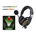OVLENG Durante la oreja los auriculares para PC con micrófono OV-L2688MV