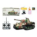 1:16 RC Tank German Panther G-type Heavy Smoke Sound Radio Remote Control Tanks Toys
