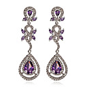 Fabulous Platinum Plated Cubic Zirconia Earrings(More Colors)