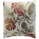 Pays Floral Jacquard Coussin décoratif