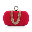 Velvet With Austria Rhinestones/ Aluminiumsheet Evening Handbags/ Clutches More Colors Available