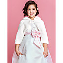 Flower Girl's Faux Fur Evening/Wedding Evening Jacket/Wrap Bolero Shrug