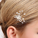 Charming Crystal Wedding/Party Hairpins/Headpiece(1 Piece Set)