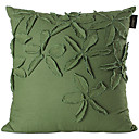Linen Pillow Cover , Embellished&Embroidered Modern/Contemporary