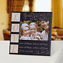 Retro Style Love Printing Wooden Picture Frame