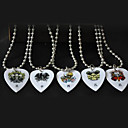 Kavaborg - Kinesisk Zodiac Guitar Pick Necklace