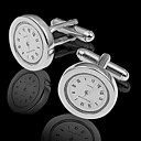 Gift Groomsman Wacth Shaped Cufflinks