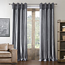 AnTi™ Two Panels  Cotton Neoclassical Polyester Blend Curtain
