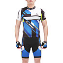 CM1307/TM1307 High Density 3D Foam Padding Cycling Suits(Blue+Black)