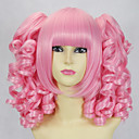 Pink Curly Pigtails 45cm Makea Lolita Wig