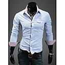 צבע החולצה איות Pocket פליפ של גברים
