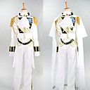 Prinssi White Satin Royal Knight Costume