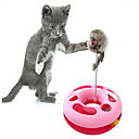 Funny Coil Spring Mouse Style Cat Toys (Random Color)