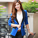 Dames contrast Tailored Collar Blazer