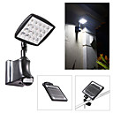 Solar White Solar Security Light Whit Pir Motion Sensor Wall Lamp(Cis-53358)