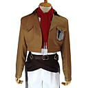 Anime Cosplay Costume Attack on Titan Mikasa Ackerman